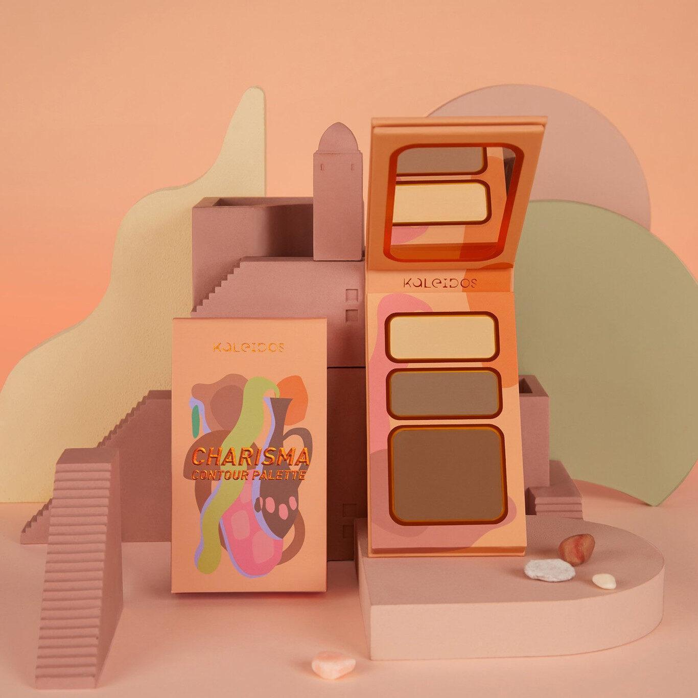 Kaleidos Makeup The Fresh Fantasy Collection Charisma Contour Warm and Medium Promo