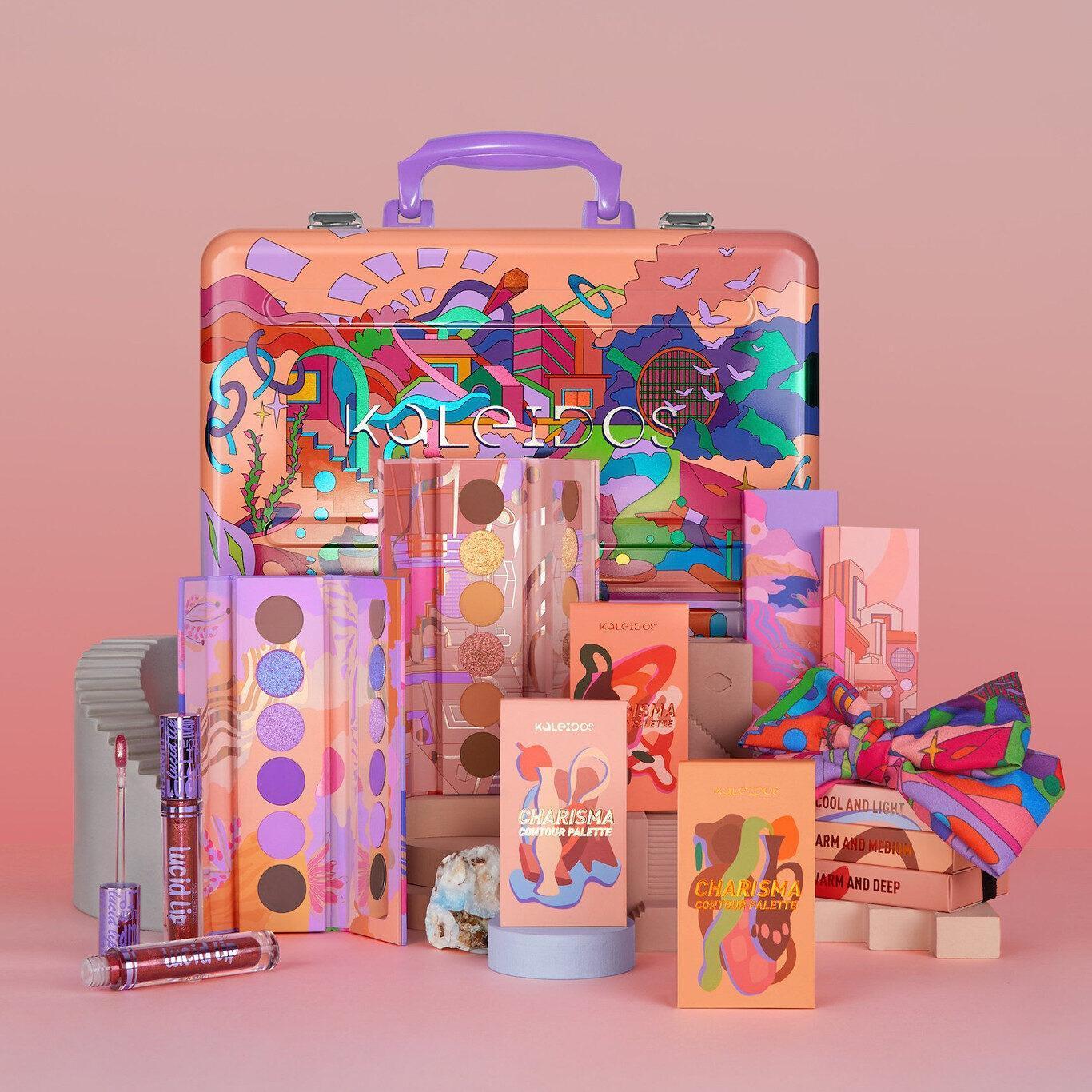Kaleidos Makeup The Fresh Fantasy Collection Full Collection PR Kit