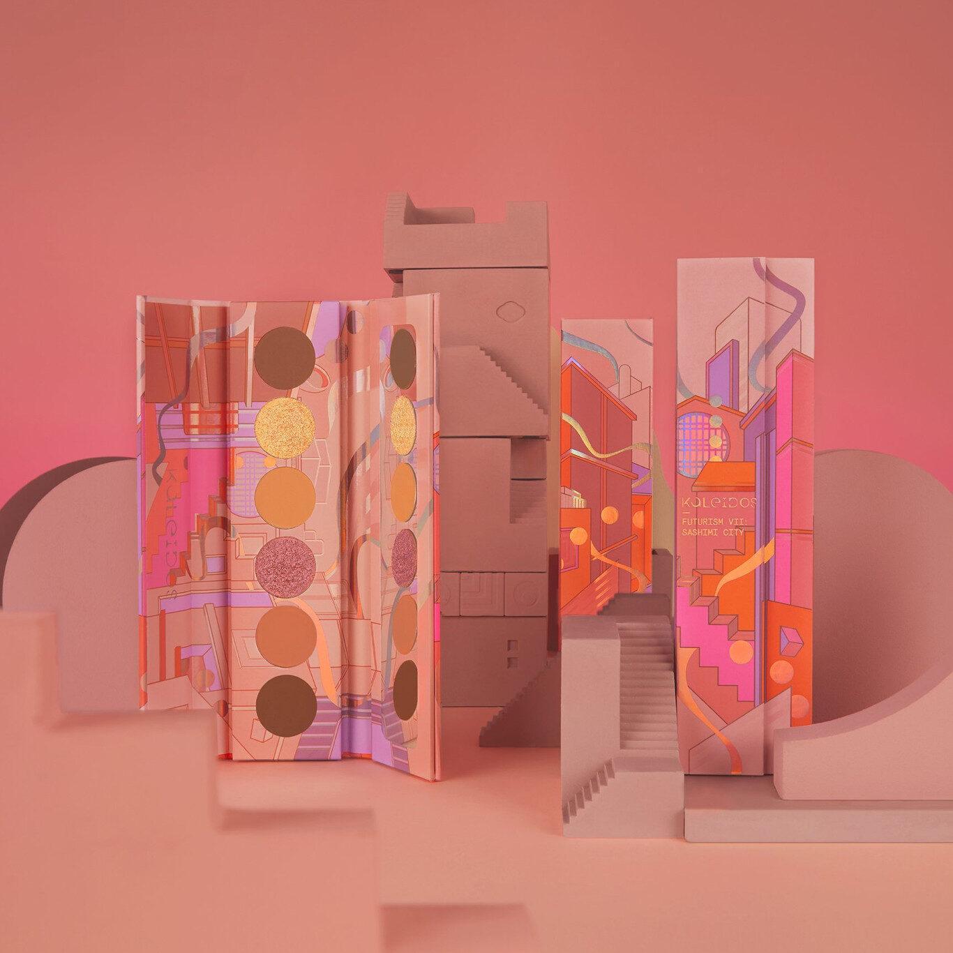Kaleidos Makeup The Fresh Fantasy Collection Futurism VII Sashimi City Eyeshadow Palette Promo