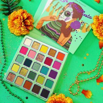 Kara Beauty Skull Candy (Dia de Los Muertos) Life Of The Fiesta Open & Closed Promo