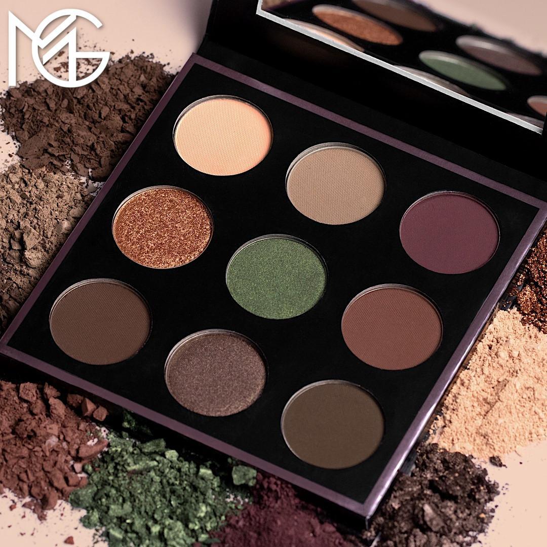 Makeup Geek Cosmetics Fall Harvest Eyeshadow Palette Promo Post Cover Logo