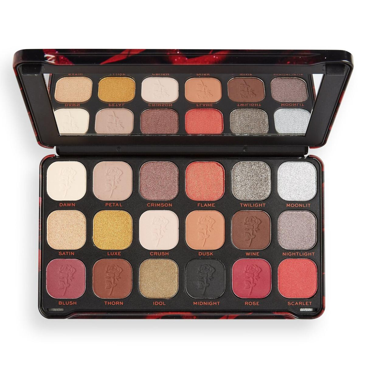 Makeup Revolution Forever Flawless Midnight Rose Eyeshadow Palette
