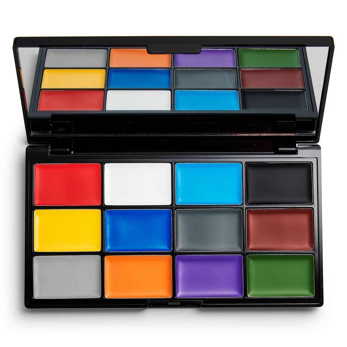 Makeup Revolution Halloween SFX Ultimate Face Paint Face Palette