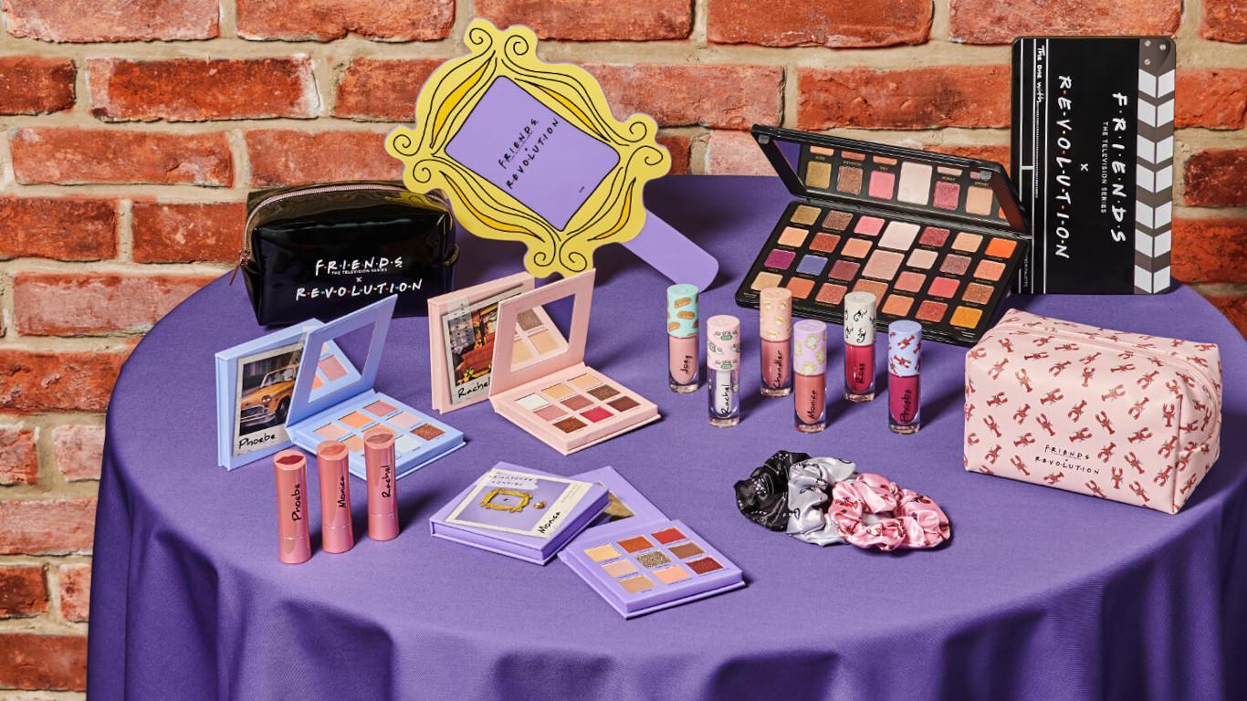 Makeup Revolution x Friends Blog Header