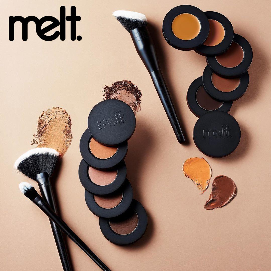 Melt Cosmetics Sculpt Collection Promo Post Cover Logo