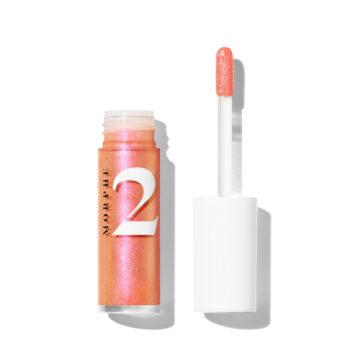 Morphe 2 Happy Glaze Lip Gloss in All Smiles Open
