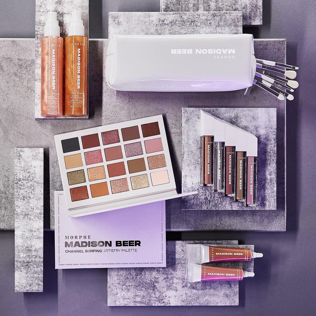 Morphe Madison Beer Collection Post Blog Cover