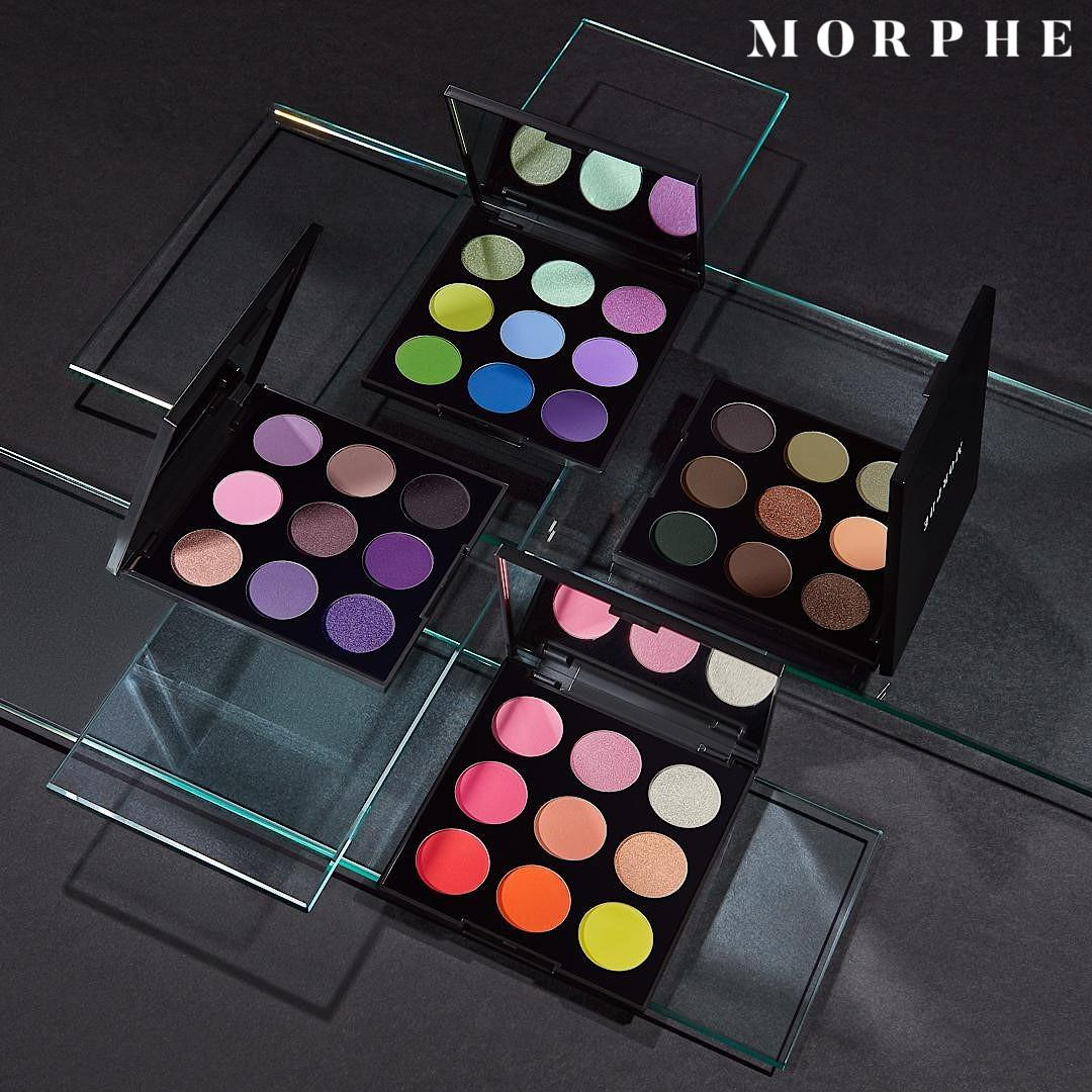 Morphe New 9 Pan Artistry Palettes Post Cover Alt Logo