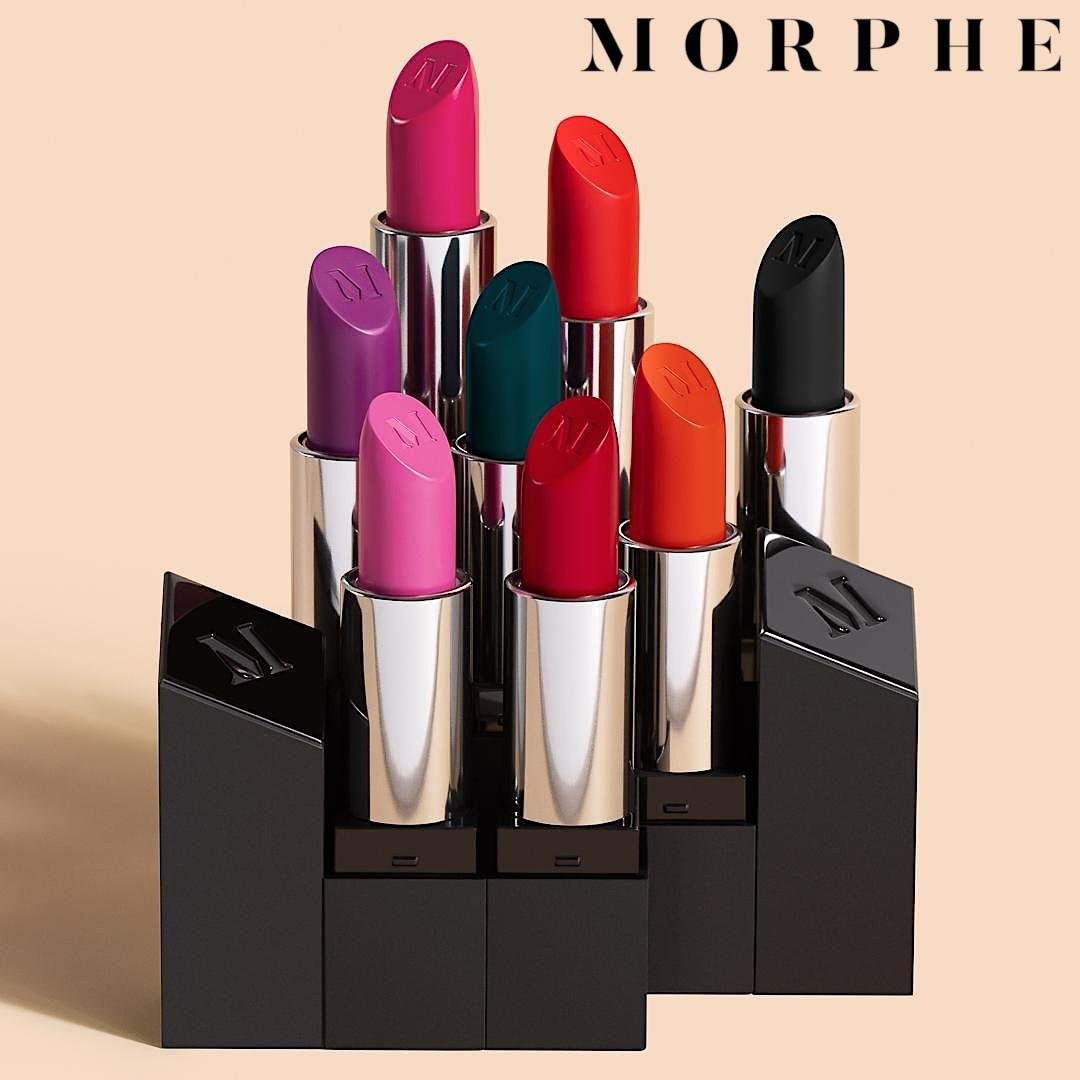 Morphe The Bold 8 Mega Matte Lipstick Collection Promo Logo