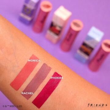Revolution X Friends Lipsticks Arm Swatch 1
