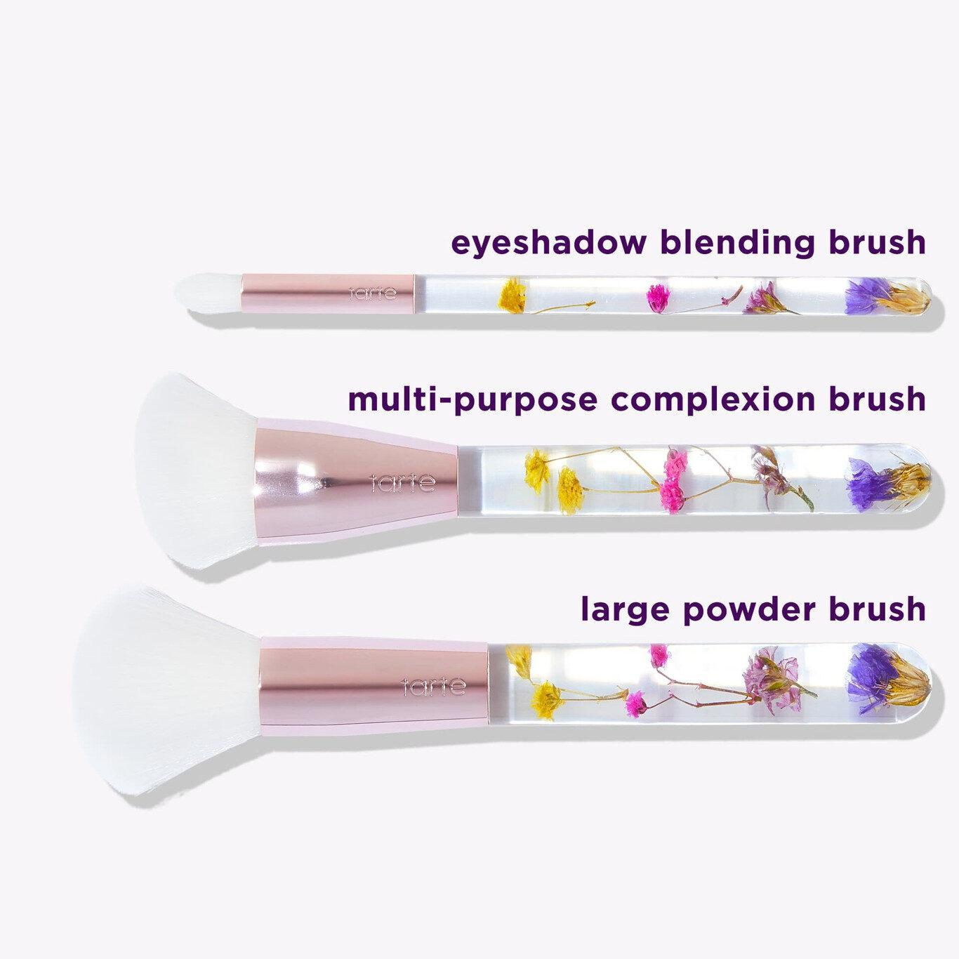 Tarte Cosmetics Brush Bouquet Brush Set With Details