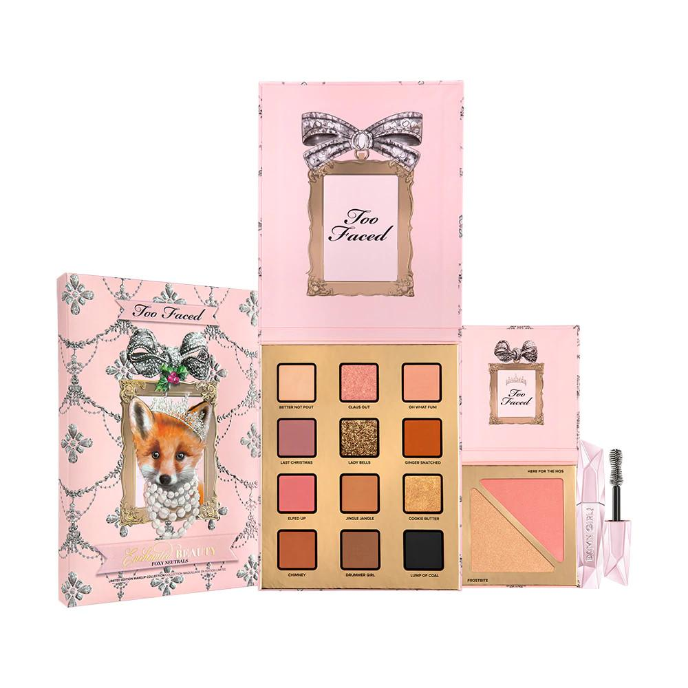 Too Faced Holiday 2020 Collection Enchanted Beauty Foxy Neutrals Makeup Set