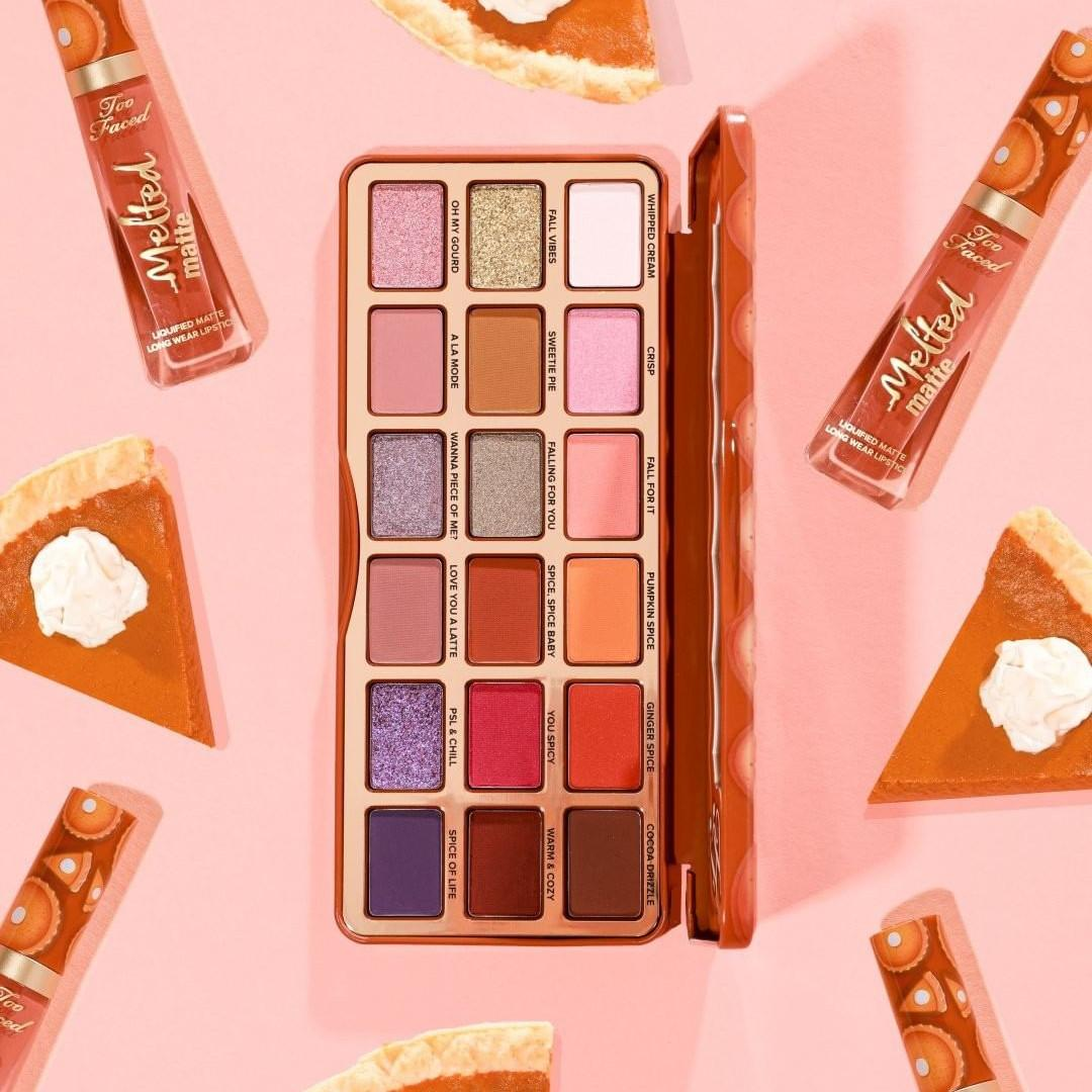 Too Faced Pumpkin Spice Eyeshadow Palette Post Cover BLOG