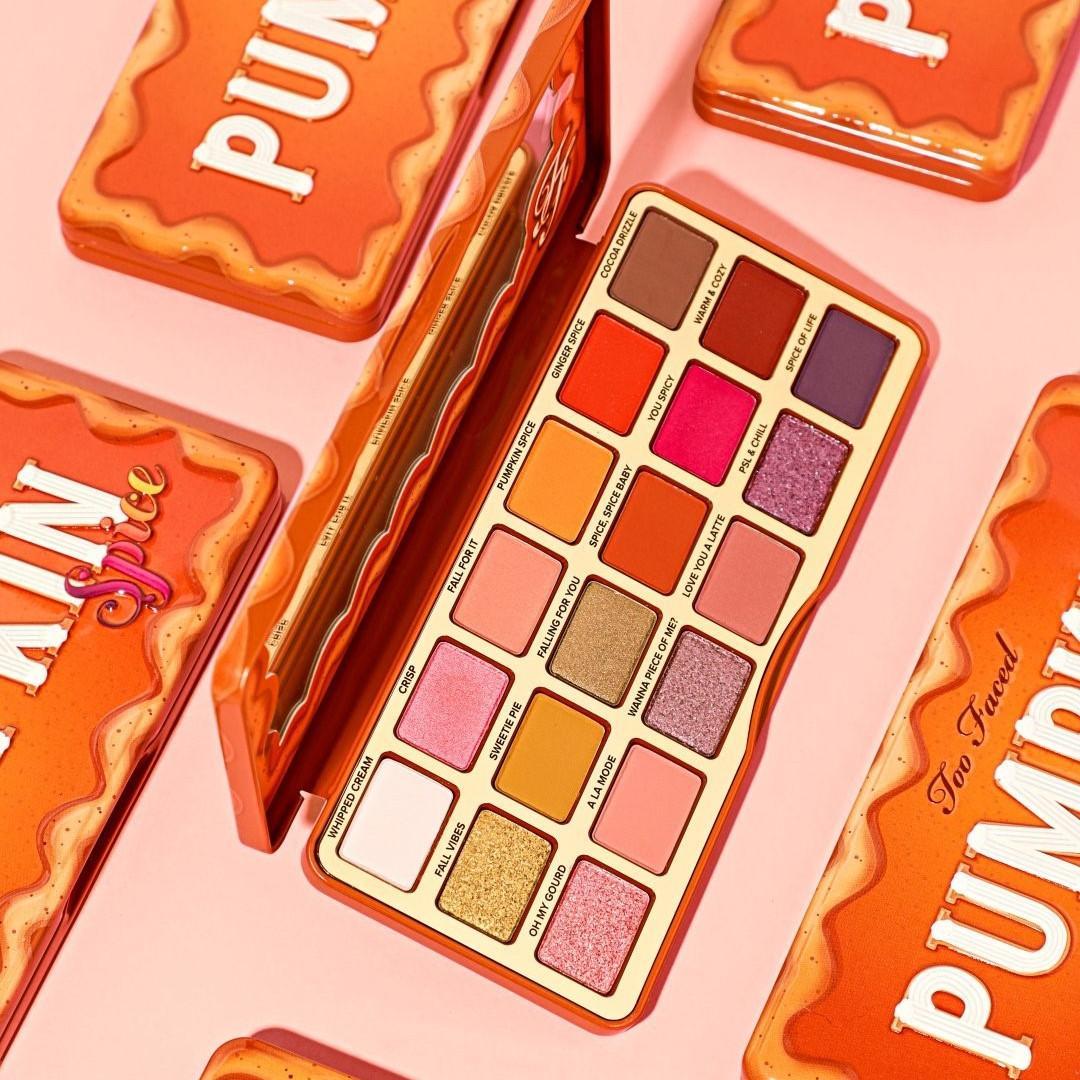 Too Faced Pumpkin Spice Eyeshadow Palette Promo