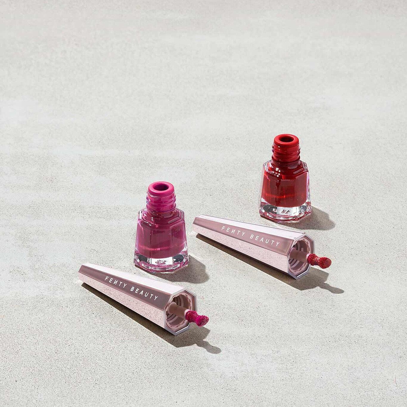 Two Lil Stunnas Mini Longwear Fluid Lip Color Duo Open