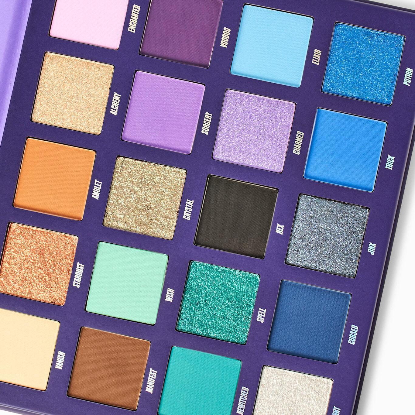 Beauty Bay Book Of Magic Palette Open Angled Closer Look