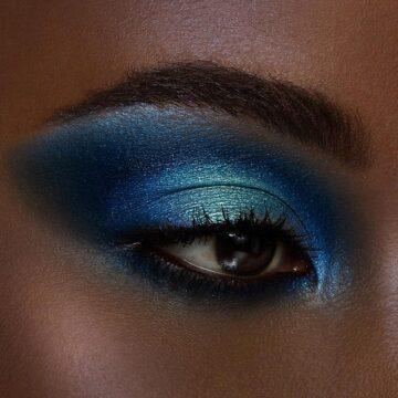 Black Moon Cosmetics Urban Myth Eyeshadow Palette Model Eye 2