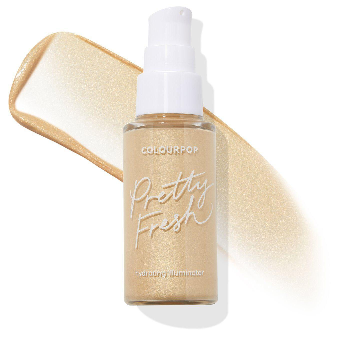 Colourpop Cosmetics Pretty Fresh Illuminator In Soft Gold