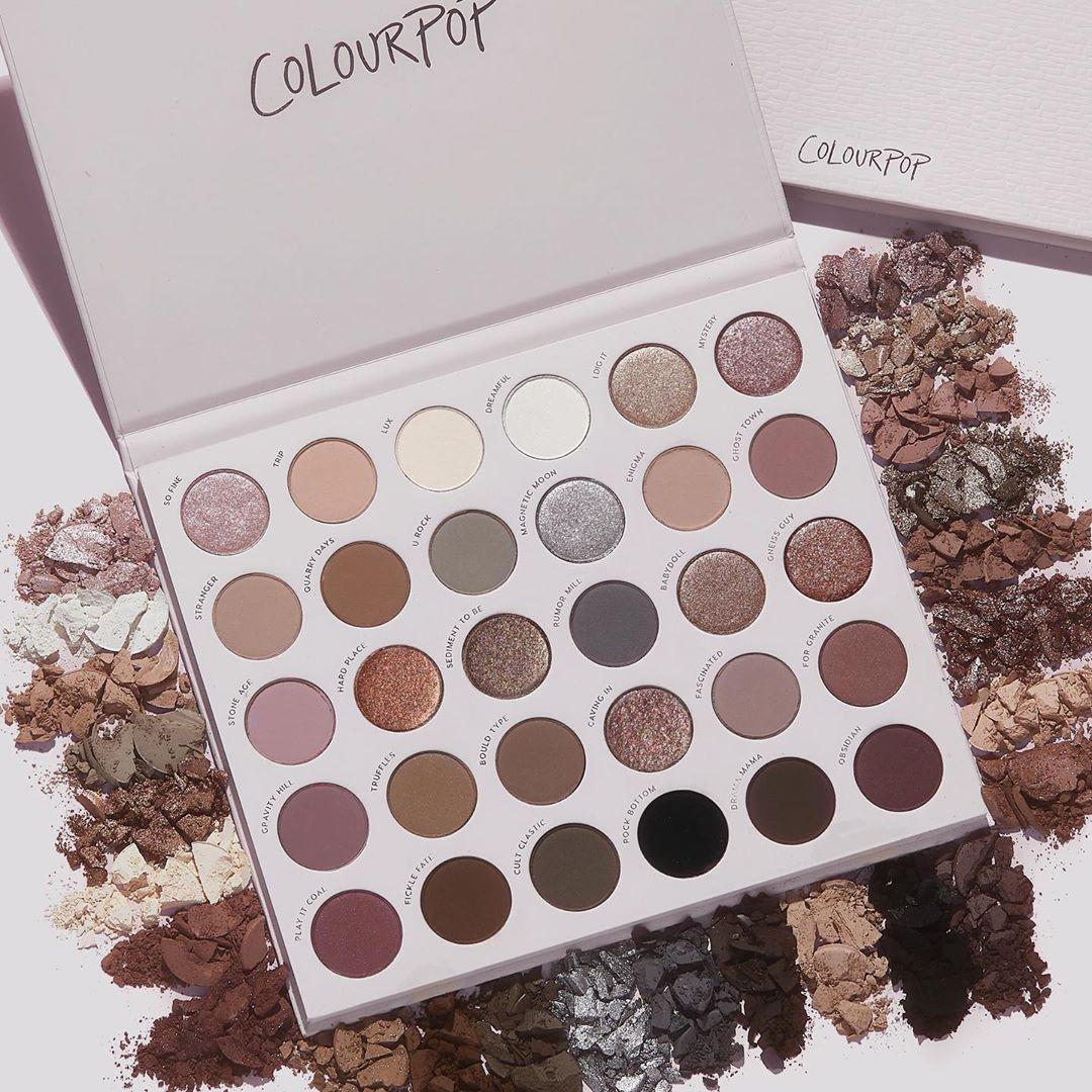 Colourpop Cosmetics Stone Cold Fox Palette Promo