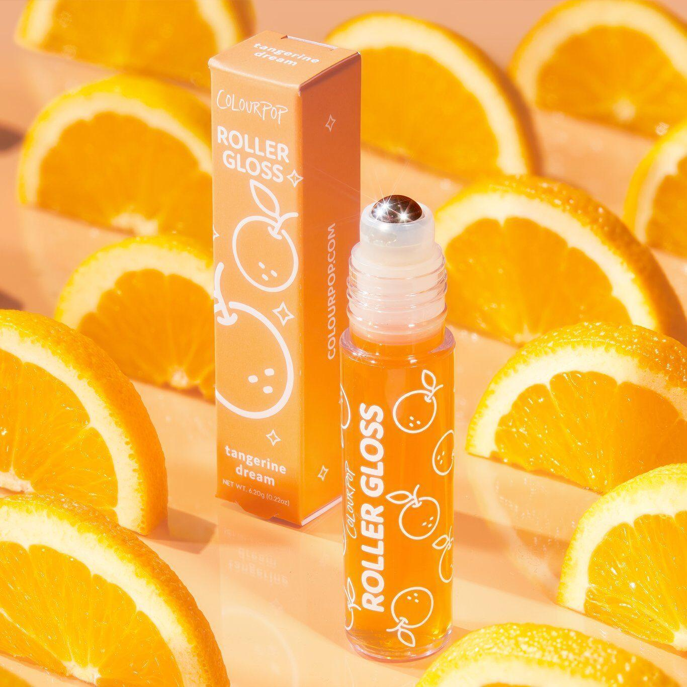 Colourpop Roll With It Roller Gloss Kit In Tangerine Promo