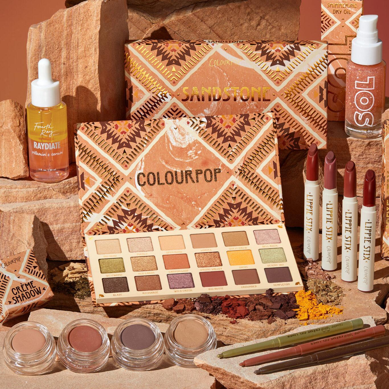 Colourpop Sandstone Collection Post Cover