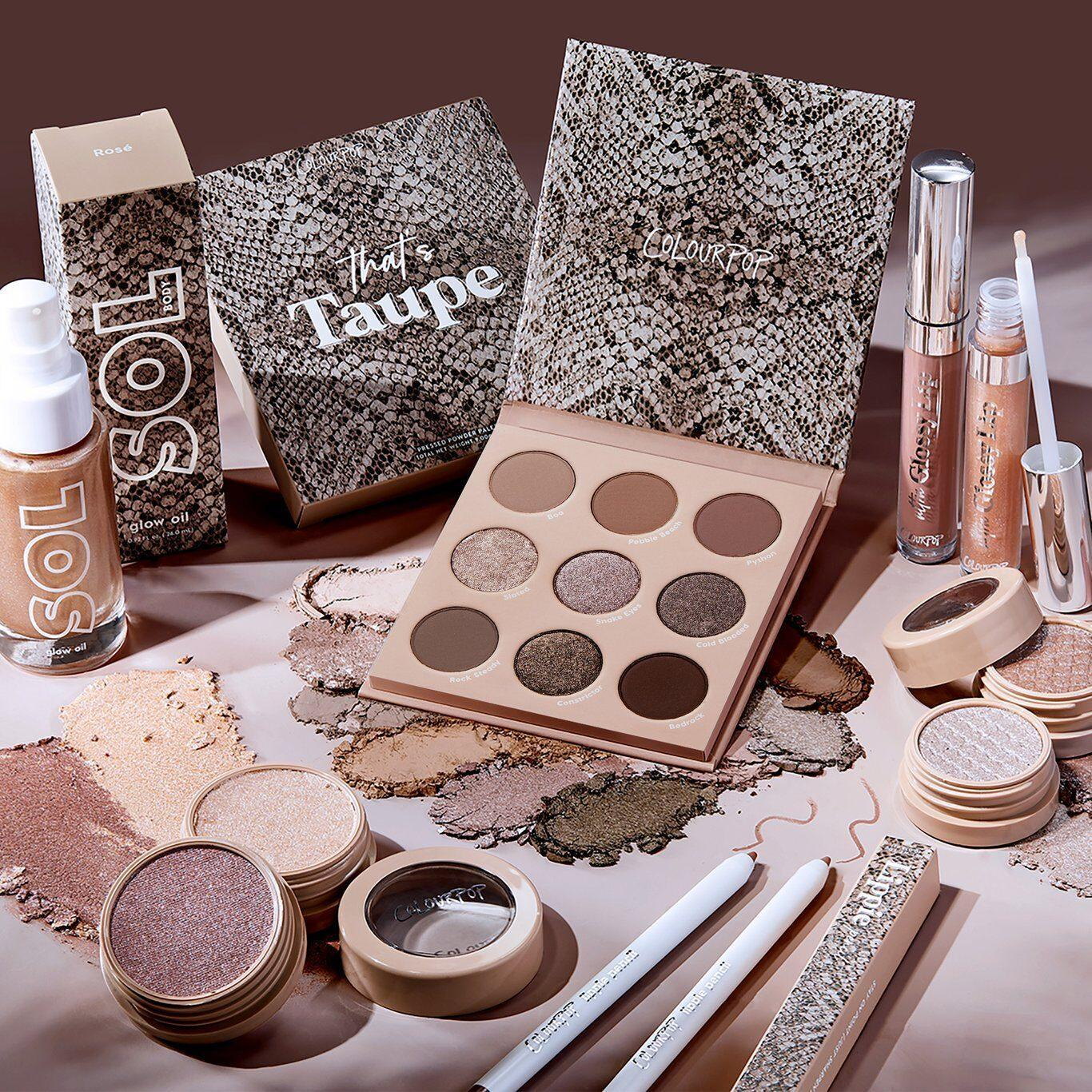 Colourpop That's Taupe Collection Promo Post Cover