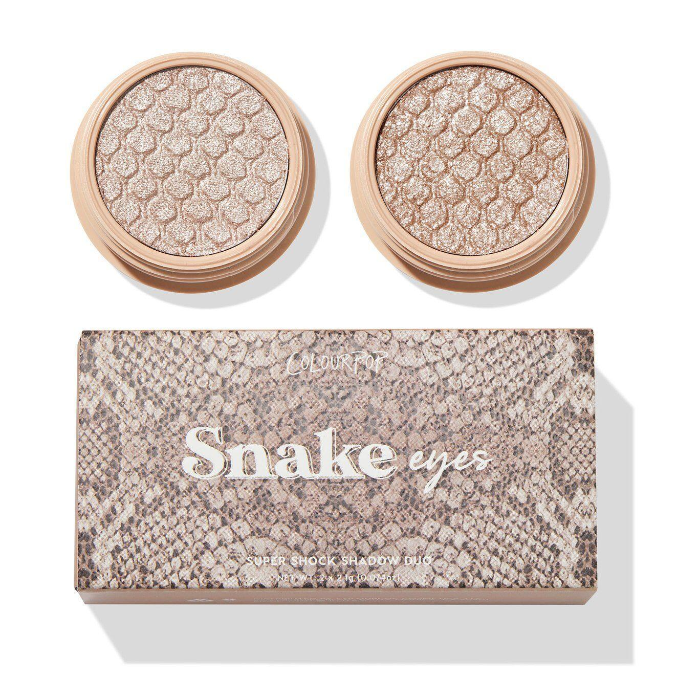 Colourpop That's Taupe Collection Snake Eyes Super Shock Shadows With Box