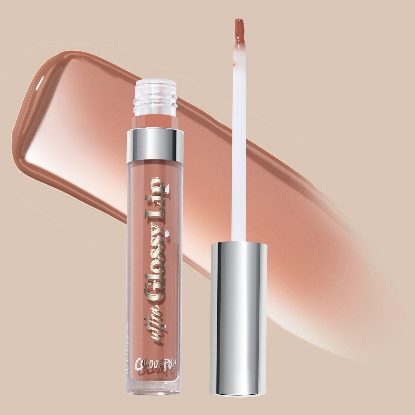 Colourpop That's Taupe Collection Ultra Glossy Lip in Rattler Open With Swatch