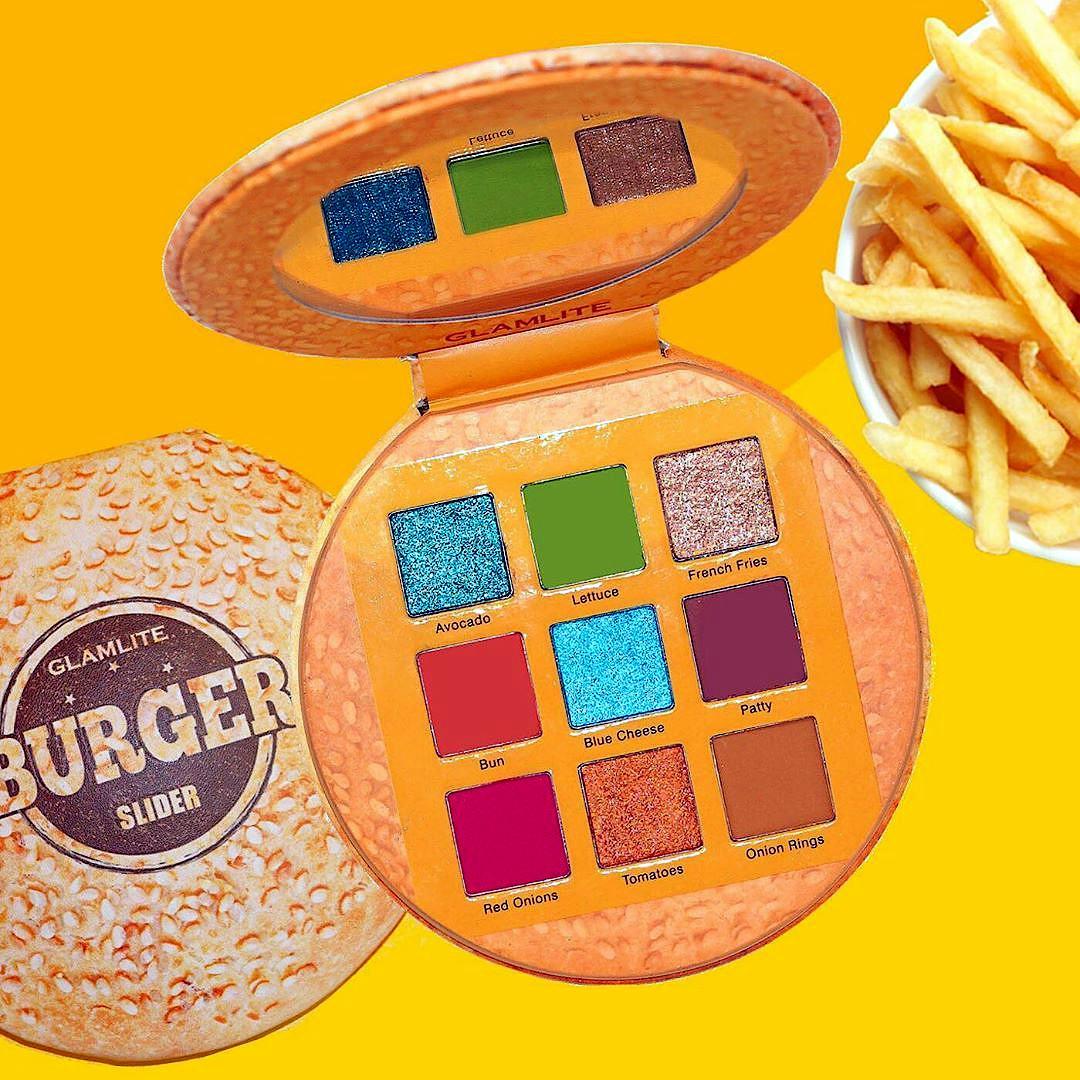 Glamlite The Burger Slider Palette Open & Closed Promo Post Cover