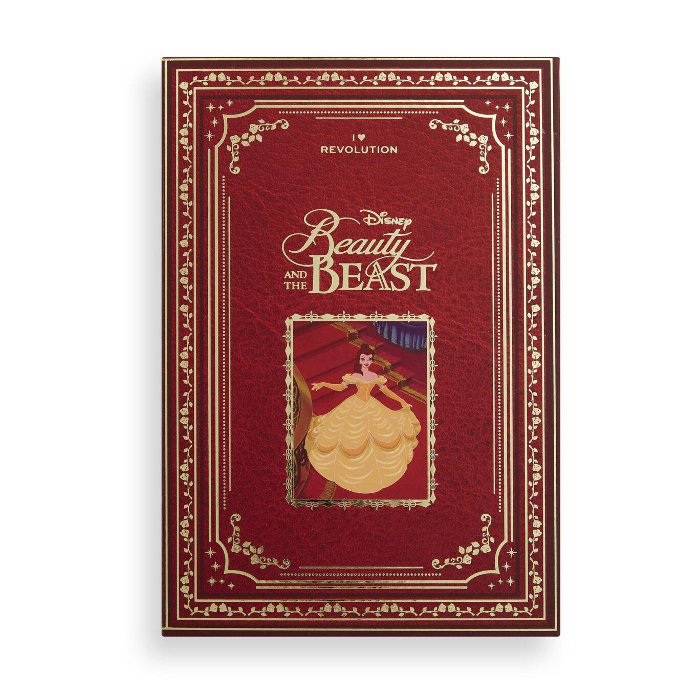 I Heart Revolution Disney Collection Disney Storybook Palette Belle Cover