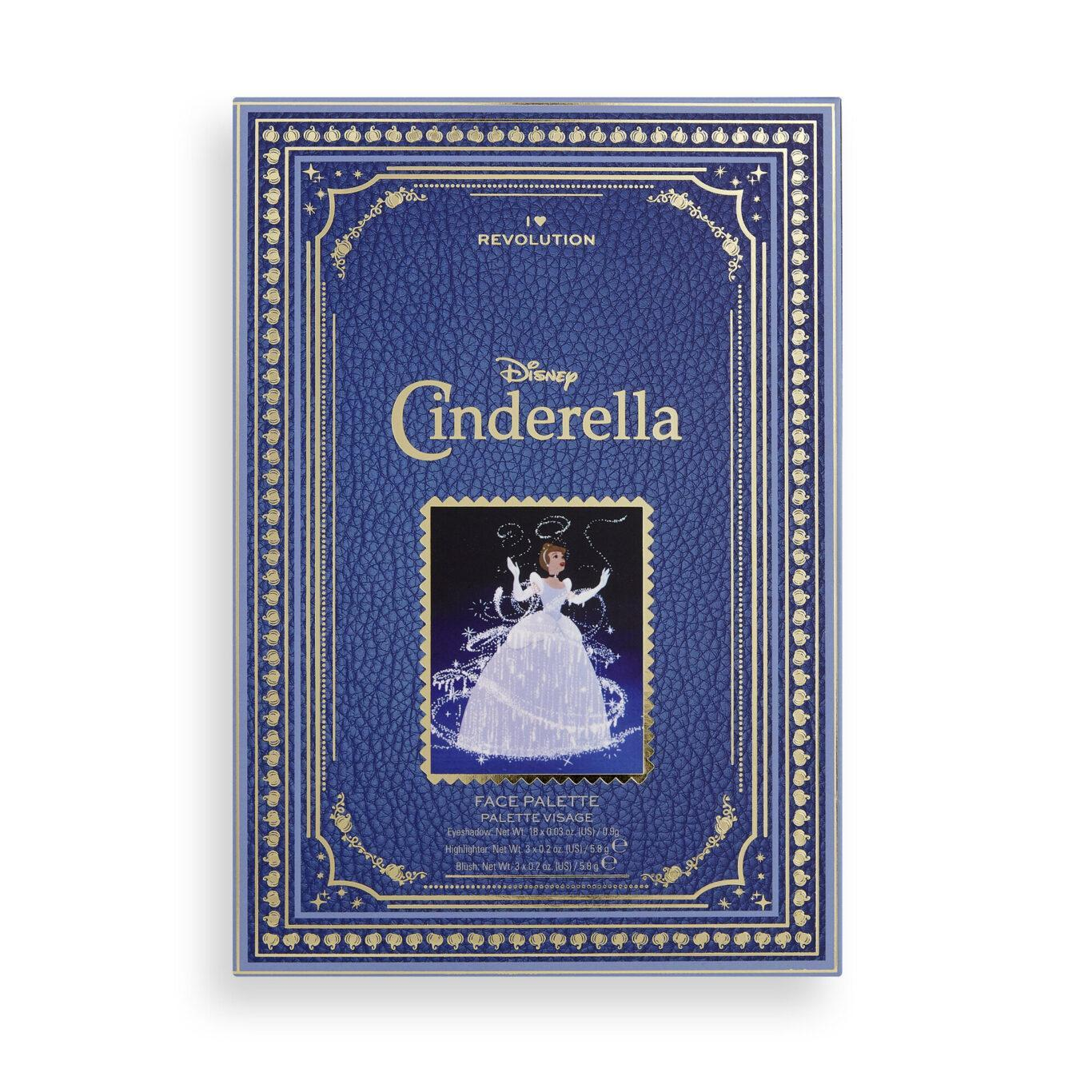 I Heart Revolution Disney Collection Disney Storybook Palette Cinderella Cover