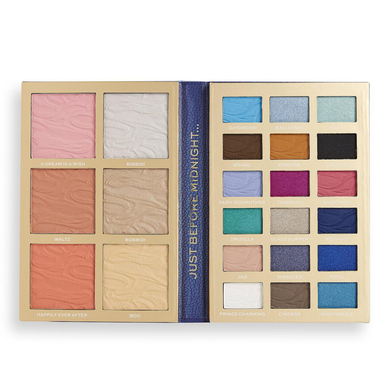 I Heart Revolution Disney Storybook Palette Cinderella Open