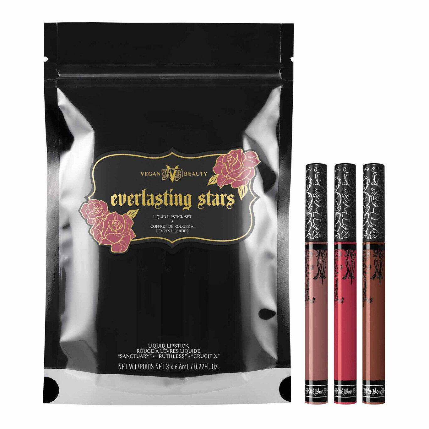 KVD Vegan Beauty Holiday Collection 2020 Everlasting Stars Liquid Lipstick Set