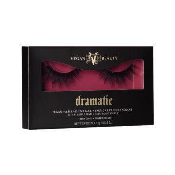 KVD Vegan Beauty Holiday Collection 2020 KVDVB Go Big or Go Home Vegan False Lashes & Glue Dramatic Box