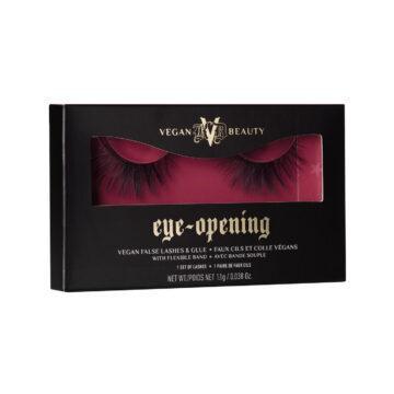 KVD Vegan Beauty Holiday Collection 2020 KVDVB Go Big or Go Home Vegan False Lashes & Glue Eye Opening Box