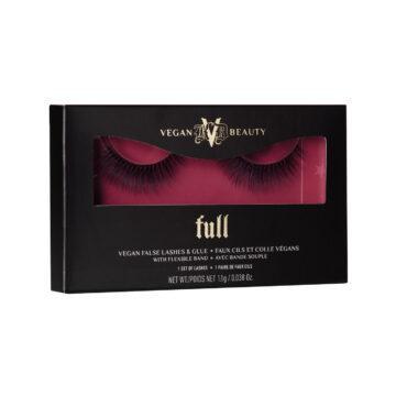 KVD Vegan Beauty Holiday Collection 2020 KVDVB Go Big or Go Home Vegan False Lashes & Glue Full Box