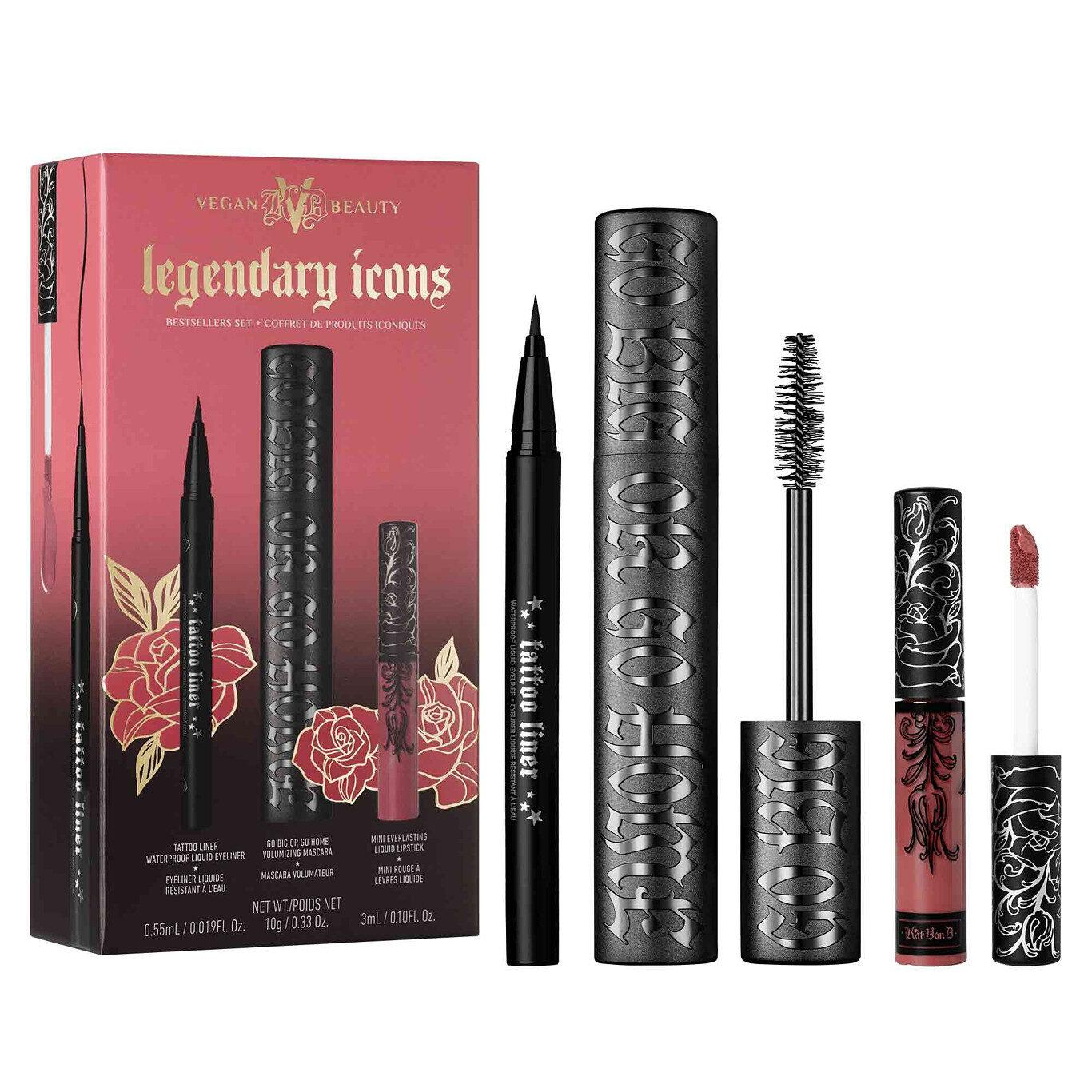 KVD Vegan Beauty Holiday Collection 2020 Legendary Icons Bestsellers Set