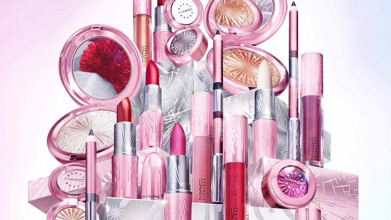 MAC Cosmetics Christmas 2020 Frosted Fireworks Collection Blog Header