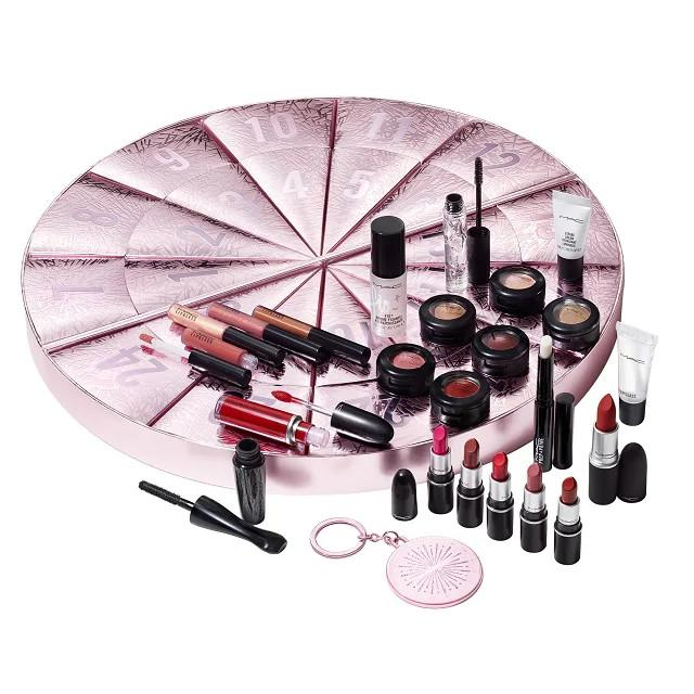 MAC Cosmetics Christmas 2020 Frosted Fireworks Collection The 2020 Advent Calendar With Products
