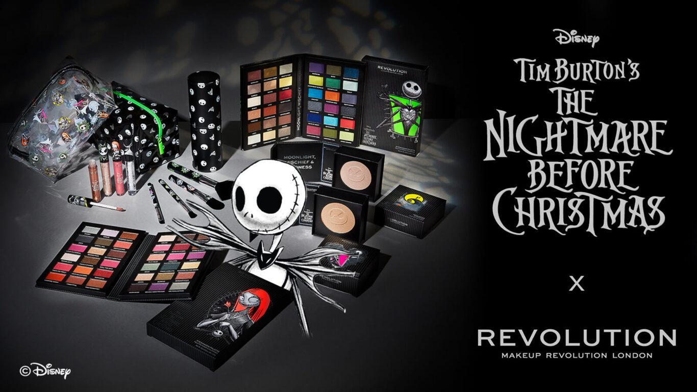 Makeup Revolution Disney Nightmare Before Christmas BLOG Post Cover