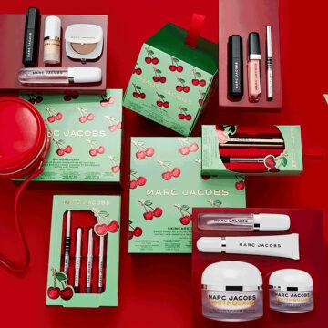Marc Jacobs Very Merry Cherry Collection Sets Promo