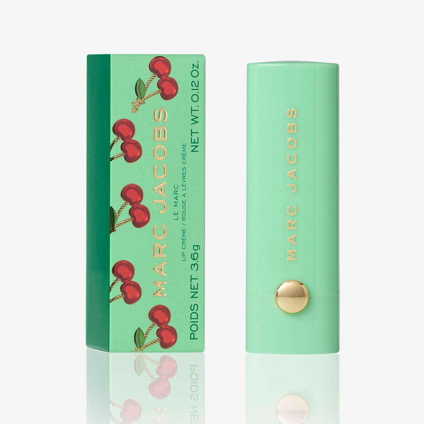 Marc Jacobs Very Merry Cherry Le Marc Lip Crème Lipstick Very Merry Cherry Edition Box
