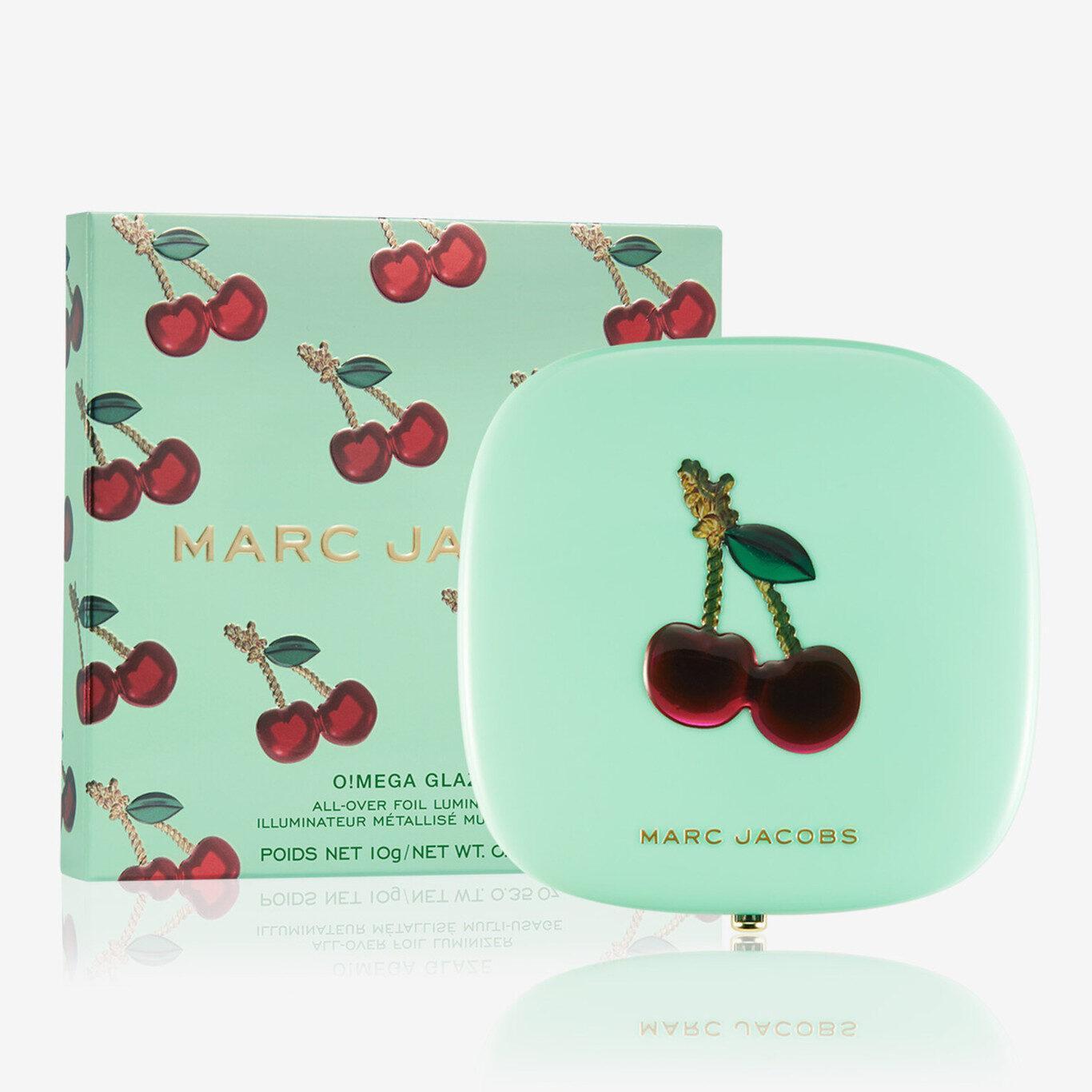 Marc Jacobs Very Merry Cherry O!mega Glaze All Over Foil Luminizer Very Merry Cherry Edition Cover