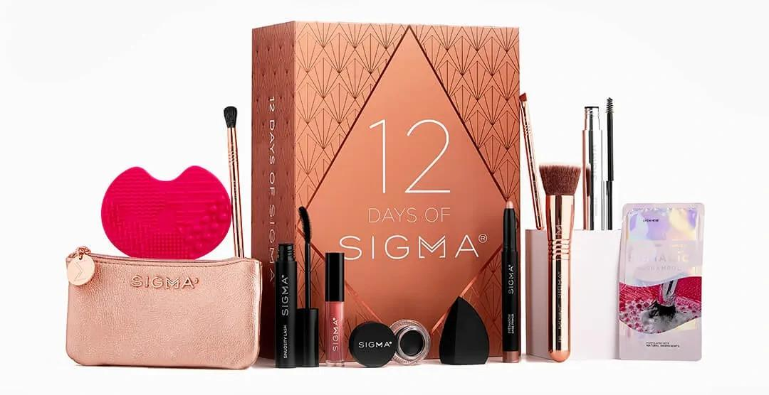 Sigma Beauty Rendezvous Holiday Collection 12 Days of Sigma Set