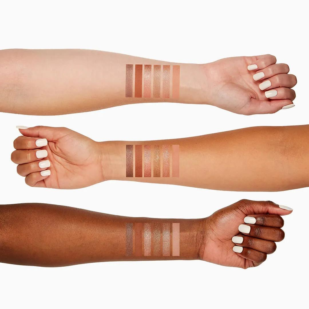 Sigma Beauty Rendezvous Holiday Collection Rendezvous Eyeshadow Palette Arm Swatches