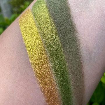 Terra Moons Cosmetics El Barrio Eyeshadow Palette Arm Swatches 1