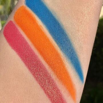 Terra Moons Cosmetics El Barrio Eyeshadow Palette Arm Swatches 3