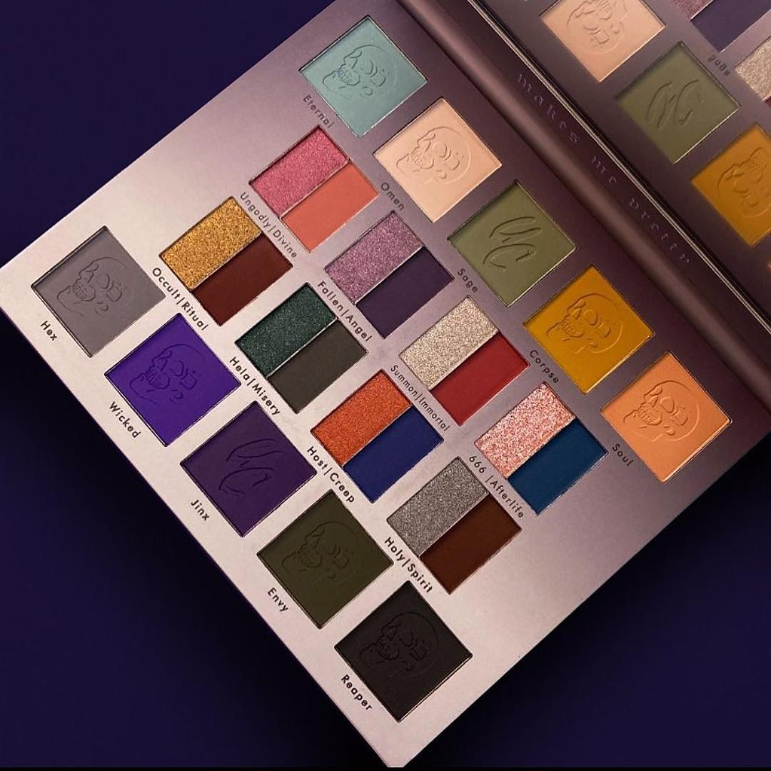 Wicked Palette By Unicorn Cosmetics Open Promo