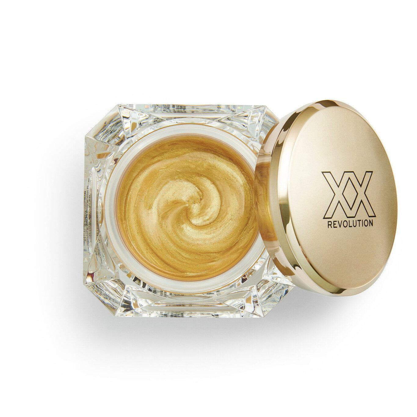 XX Revolution MetaliXX Collection MetaliXX Gold Face Mask Open