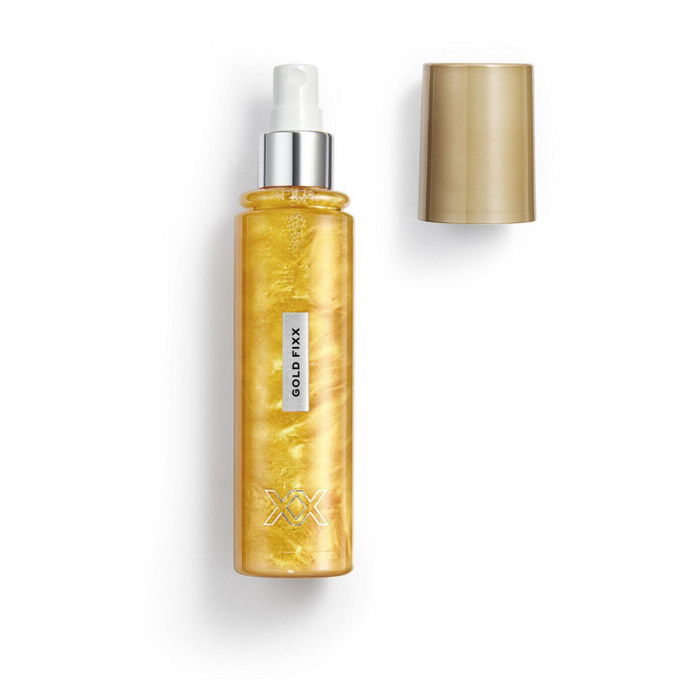 XX Revolution MetaliXX Gold FiXX Setting Spray Open